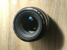 Canon EF 50mm f/1.4 USM lens (made in Japan) *** excellent condition ***