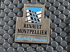 PINS PIN BADGE CAR RENAULT GARAGE MONTPELLIER