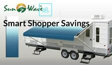 20' RV Camping Trailer Camper Awning Replacement Fabric Canopy Sun Shade Shelter