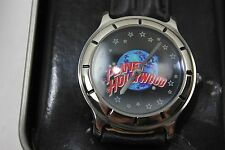 New Planet Hollywood Analog Quartz Movement Mens Wrist Watch Fossil w Tin PL1014