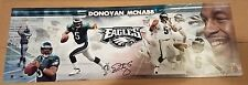 DONOVAN MCNABB Autographed Signed 12x36 Panoramic Pic Philadelphia Eagles FOLES