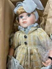 Boyds Yesterdays Child 16� Erin – Lemonade For Two, Porcelain Doll & Teddy