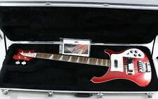 2012 Rickenbacker Model 4003 4-String Electric Bass Guitar Ruby Red w/ Hard Case