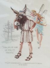 Shakespeare's A Midsummer-Night's Dream Counted Cross Stitch Kit Heritage Fairy