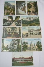 California Ca Antique Postcard Lot Mission Inn The Pike and More!  T*