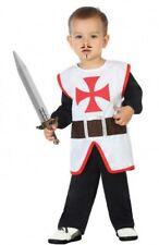 Déguisement Bébé Garçon CHEVALIER 12-24 mois Enfant Templier Médiéval NEUF