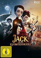 Jack und das Kuckucksuhrherz von Stéphane Berla   DVD   Zustand gut