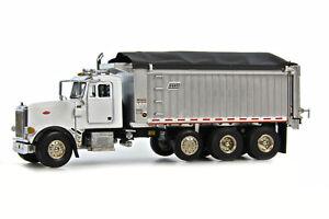 "Peterbilt 357 Dump Truck - ""WHITE"" - 1/50 - Sword #SW2042W"