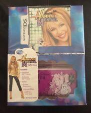 Hannah Montana Nintendo DS Gift Box Set New