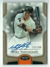 MIKE YASTRZEMSKI 2020 TOPPS TIER ONE ROOKIE AUTO SP CARD #173/299