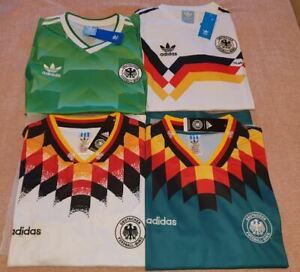 1990 West Germany Soccer Shirt Jersey Football Italia 90 Home Away 1994