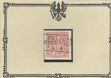 Preußen / BRESLAU / CREUZBURG Ra3 zentr. a. Kabinett-Briefstück m. NDP 16
