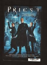 """Priest""--2011 DVD Backer Card--Bettany/Maggie Q/Gigandet"