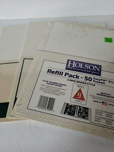 Set of 3 NOS Holson Refill Pack Windsor Browne Photo Pages Memo Magnetic
