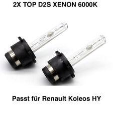 2x d2s 6000k 35w Xenon renault koleos hy