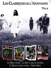 4 DVD box classics of terror - Les classiques de l'épouvante Vol 2 / IMPORT