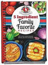 5 Ingredient Family Recipes by Gooseberry Patch (2018, Hardcover)