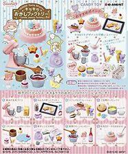 Re-ment Miniatures Little Twin Stars  Kirakira Okashi Factory # Full set of 8