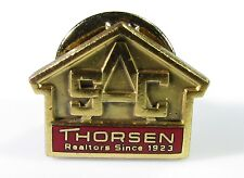 Thorsen Realtors Illinois Pin in Gold Tone