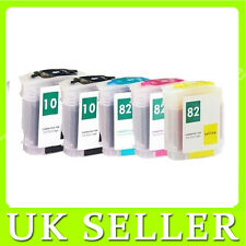 5 INK CARTRIDGE For HP 10& 82 Designjet 500 Plus 500ps Plus 800ps 815mfp 820mfp