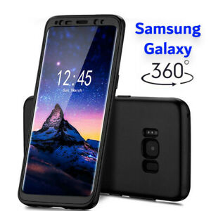 Case for Samsung Galaxy S9+ S8 360 Shockproof FULL BODY Case & Screen Protector
