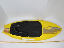 """Hydroslide Kneeboard Kransco Yellow Approximately 56"""" Long x 21 1/2"""" GS"""