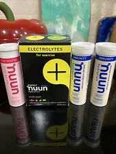 Nuun Sport + Caffeine: Electrolyte Drink Tablets, Mixed Flavor Box, 7 Tubes