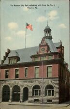 Renovo PA Fire Department c1910 Postcard