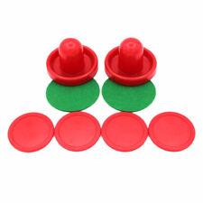 5Pcs 2 inch Mini Air Hockey Table Pucks 51mm Puck Children Table Red Nice YW