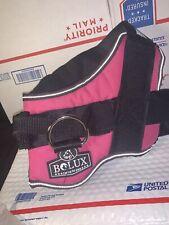 Bolux Dog Harness, No-Pull Reflective Breathable Adjustable Pet Vest Pink LARGE