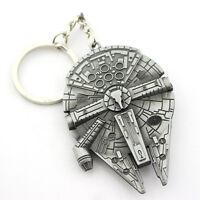 Star Wars Pendant Key Chain keyring Keychain Charm Gift New Spaceship Logo Metal