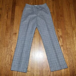 Pendleton Womens Size 4 Pants Plaid 100% Wool (28W x 32L) Houndstooth