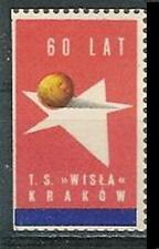 Poland label 1966 sport TS WISLA