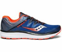 Saucony S20415-35 Guide ISO Blue Grey ViZi Red Men's Running Shoes