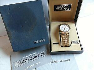 1990's Men's Seiko Railroad Approved 24 Hour Quartz Watch 5H23-8A09 4 REPAIR