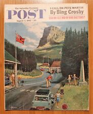 Saturday Evening Post August 5 1961; Bing Crosby; Bad Doctors; Sec. McNamara