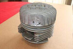 Vintage Bm LUDWIG Race Go Kart Cylinder Head, Jug, & Piston No Reserve