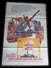 STEVE MCQUEEN - THE SAND PEBBLES - ORIGINAL 1966 LITHO MOVIE POSTER. 1SH ARG.