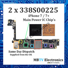 2 x 338S00225 - iPhone 7 / 7+ / 7 Plus Power Management IC - Dead / Overheating