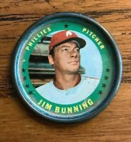 1971 Topps COINS #3 Jim Bunning - Phillies