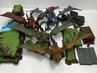 MEGA BLOKS Lot Of DRAGONS & Building Blocks Incomplete Set