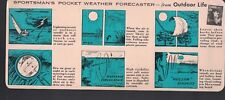 Outdoor Life Magazine Pocket Weather Forecaster