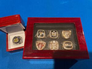 Michael Jordan 6 Nba Bulls Championship Ring And 1 North Caroline Championship