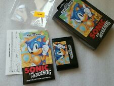 Sonic the Hedgehog Original First Release Print Sega Genesis FACTORY NEW OPEN