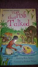 The Fish That Talked (Hardback, 2008)Usborne young readers book Brand New