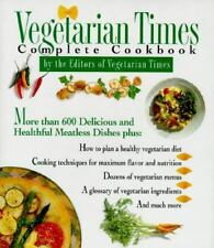 Vegetarian Times Complete Cookbook, Lucy Moll, Good Book