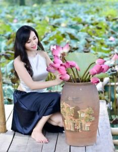 Traditional Ao Yem Custom Made White And Black Viet Nam