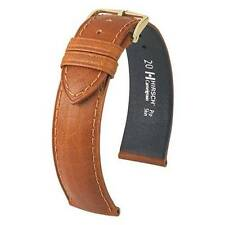 Hirsch Camelgrain 19 mm honey Pro Skin watch strap, L