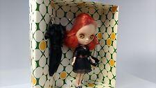 TAKARA   Petite  Blythe   Japanese doll   Beautiful  rouge noir   4.5in  Unused