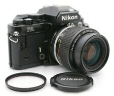 [Near Mint-] NIKON FA Black SLR Film Camera + AI-S Zoom-NIKKOR 28-50mm F/3.5